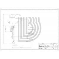 Смеситель для биде Bianchi Century BIDCEN200300