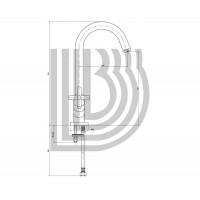 Смеситель для кухни Bianchi Amelix  LVMAML111000