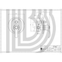 Смеситель для ванны Bianchi Class INDCLS201000