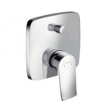 Смеситель для ванны Hansgrohe Metris 31454000