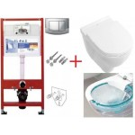 Инсталляция Tece 9400005 + унитаз Villeroy&Boch O.Novo Direct Flush 5660HR01