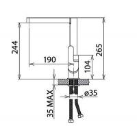 Смесители для кухни Welle Ernest AR56218D