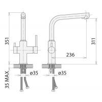 Смесители для кухни Welle FM56087D