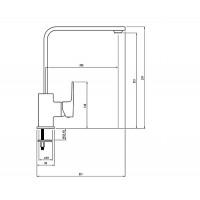 Смеситель на кухню DEANTE Anemon BCZ 062M
