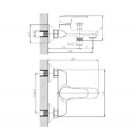 Набор для ванны Imprese kit21081