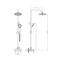 Душевая система Imprese BILA Smeda T-15086