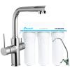 Смеситель для кухни Imprese DAICY 55009-F + Ecosoft standart (3-Х ступенчатая система очистки воды)
