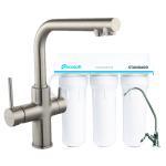 Смеситель для кухни Imprese DAICY 55009S-F + Ecosoft Standart (3-х ступенчатая система очистки воды)