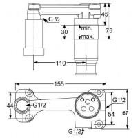 Внутренний блок Kludi 38243