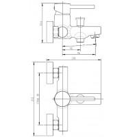 Смеситель для ванны Koller Pool Orion OR0100