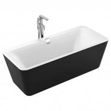 Ванна VOLLE 12-22-110 BLACK отдельностоящая